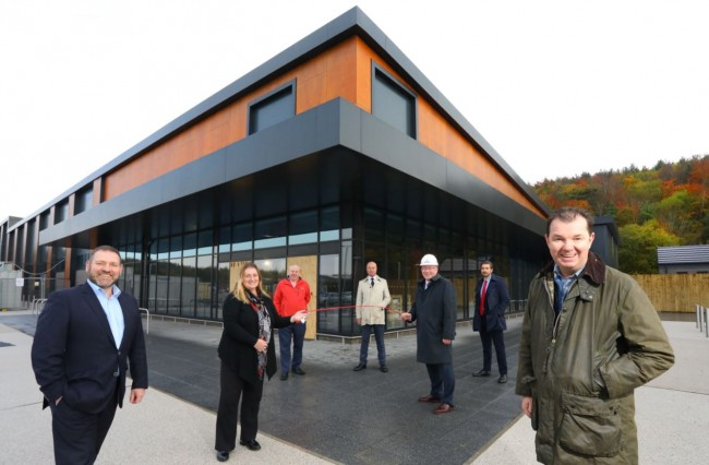Minister visits Tyneview Retail Park as Scheme Hits Milestone